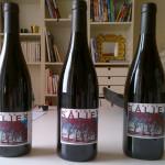 Wine-label-on-bottles
